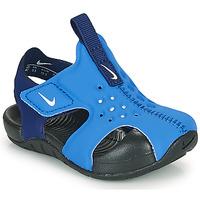 Čevlji  Dečki Natikači Nike SUNRAY PROTECT 2 TD Modra