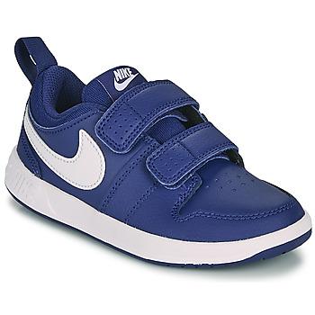 Čevlji  Dečki Nizke superge Nike PICO 5 PS Modra / Bela