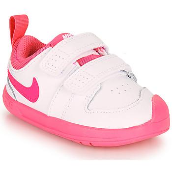 Čevlji  Deklice Nizke superge Nike PICO 5 TD Bela / Rožnata