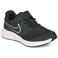 Čevlji  Otroci Šport Nike STAR RUNNER 2 PS Črna / Bela