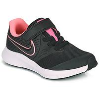Čevlji  Deklice Šport Nike STAR RUNNER 2 PS Črna / Rožnata