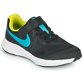 Čevlji  Dečki Šport Nike STAR RUNNER 2 PS Črna / Modra