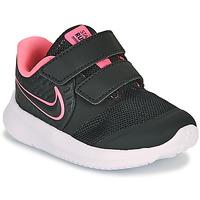 Čevlji  Deklice Šport Nike STAR RUNNER 2 TD Črna / Rožnata