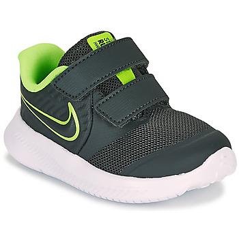 Čevlji  Dečki Šport Nike STAR RUNNER 2 TD Črna / Zelena