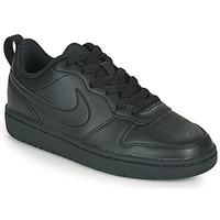 Čevlji  Otroci Nizke superge Nike COURT BOROUGH LOW 2 GS Črna