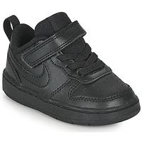Čevlji  Otroci Nizke superge Nike COURT BOROUGH LOW 2 TD Črna