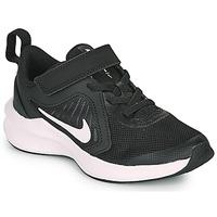 Čevlji  Otroci Šport Nike DOWNSHIFTER 10 PS Črna / Bela