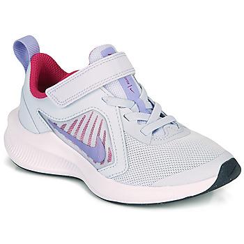 Čevlji  Deklice Šport Nike DOWNSHIFTER 10 PS Modra / Vijolična