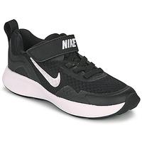 Čevlji  Otroci Šport Nike WEARALLDAY PS Črna / Bela