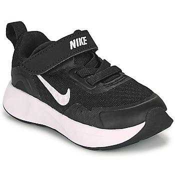 Čevlji  Otroci Šport Nike WEARALLDAY TD Črna / Bela