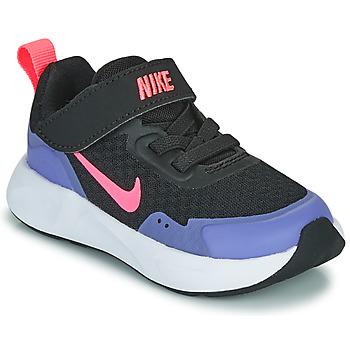 Čevlji  Deklice Šport Nike WEARALLDAY TD Črna / Modra