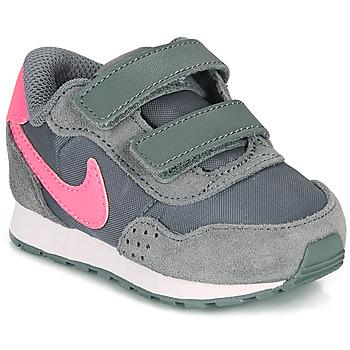 Čevlji  Deklice Nizke superge Nike MD VALIANT TD Siva / Rožnata
