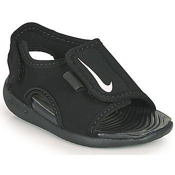Čevlji  Otroci Natikači Nike SUNRAY ADJUST 5 V2 TD Črna