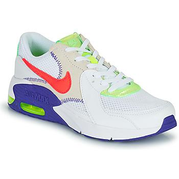 Čevlji  Otroci Nizke superge Nike AIR MAX EXCEE AMD GS Bela / Modra / Rdeča