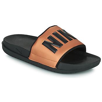 Čevlji  Ženske Natikači Nike NIKE OFFCOURT Črna / Bronze