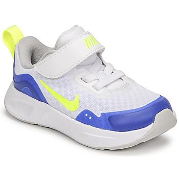 Čevlji  Otroci Šport Nike NIKE WEARALLDAY Bela / Modra / Zelena