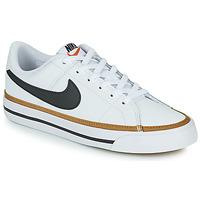 Čevlji  Otroci Nizke superge Nike NIKE COURT LEGACY Bela / Črna