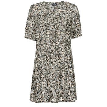 Oblačila Ženske Kratke obleke Vero Moda VMELIN Bež