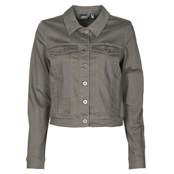 Oblačila Ženske Jeans jakne Vero Moda VMHOTSOYA Kaki
