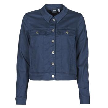 Oblačila Ženske Jeans jakne Vero Moda VMHOTSOYA Modra