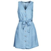 Oblačila Ženske Kratke obleke Vero Moda VMVIVIANA Modra / Svetla