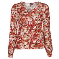 Oblačila Ženske Srajce & Bluze Vero Moda VMSIMPLY EASY Rdeča