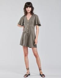 Oblačila Ženske Kombinezoni Vero Moda VMVIVIANA Kaki
