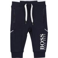 Oblačila Dečki Spodnji deli trenirke  BOSS NOLITA Modra