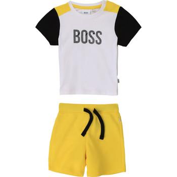 Oblačila Dečki Otroški kompleti BOSS COLITA Večbarvna