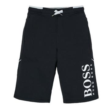 Oblačila Dečki Kratke hlače & Bermuda BOSS KIMOLI Črna