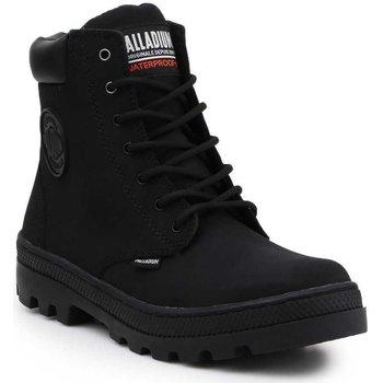 Čevlji  Ženske Visoke superge Palladium Manufacture Pallabosse SC Waterproof 96868-008-M black