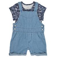 Oblačila Deklice Kombinezoni Ikks XS37010-84 Modra