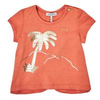 Oblačila Deklice Majice s kratkimi rokavi Ikks XS10080-67 Oranžna