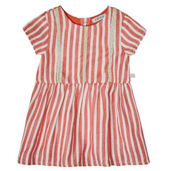 Oblačila Deklice Kratke obleke Ikks XS30000-35 Rdeča