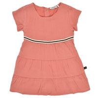 Oblačila Deklice Kratke obleke Ikks XS30090-67 Oranžna