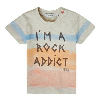 Oblačila Dečki Majice s kratkimi rokavi Ikks XS10061-60 Večbarvna