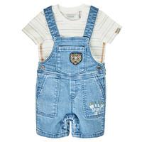 Oblačila Dečki Kombinezoni Ikks XS37011-84 Modra