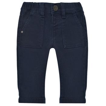 Oblačila Dečki Hlače s 5 žepi Ikks XS29011-48 Modra