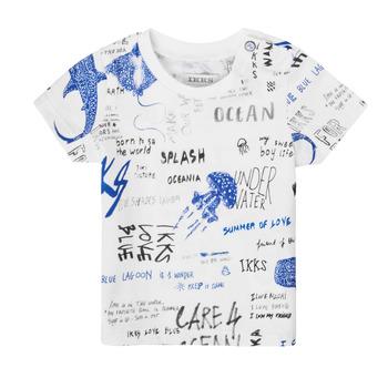 Oblačila Dečki Majice s kratkimi rokavi Ikks XS10021-19 Večbarvna