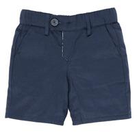 Oblačila Dečki Kratke hlače & Bermuda Ikks XS25021-45 Modra