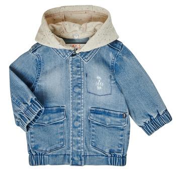 Oblačila Dečki Jakne Ikks XS40021-84 Modra