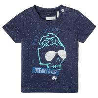 Oblačila Dečki Majice s kratkimi rokavi Ikks XS10011-48 Modra