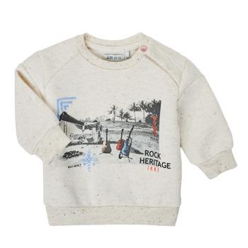 Oblačila Dečki Puloverji Ikks XS15011-60 Bela