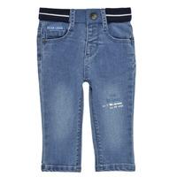 Oblačila Dečki Kavbojke slim Ikks XS29001-83 Modra