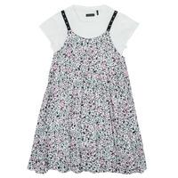 Oblačila Deklice Kratke obleke Ikks XS30182-19-J Večbarvna
