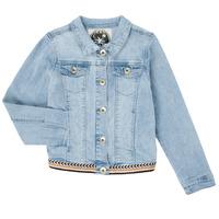 Oblačila Deklice Jeans jakne Ikks XS40152-84-J Modra