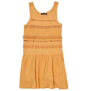 Oblačila Deklice Kratke obleke Ikks XS31012-74-J Oranžna