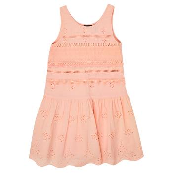 Oblačila Deklice Kratke obleke Ikks XS31012-32-J Rožnata