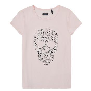 Oblačila Deklice Majice s kratkimi rokavi Ikks XS10492-31-C Rožnata