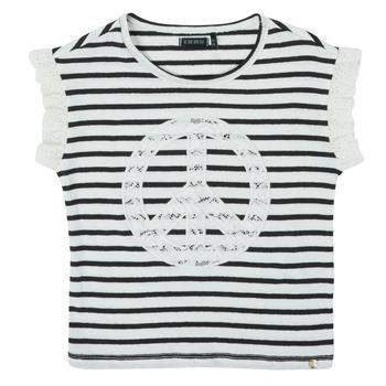 Oblačila Deklice Majice s kratkimi rokavi Ikks XS10022-19-C Večbarvna